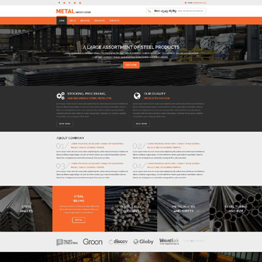 Website Template № 53971