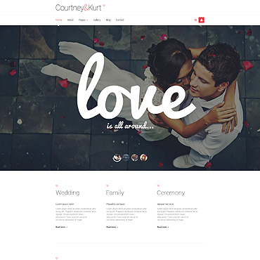 Website Template № 54027