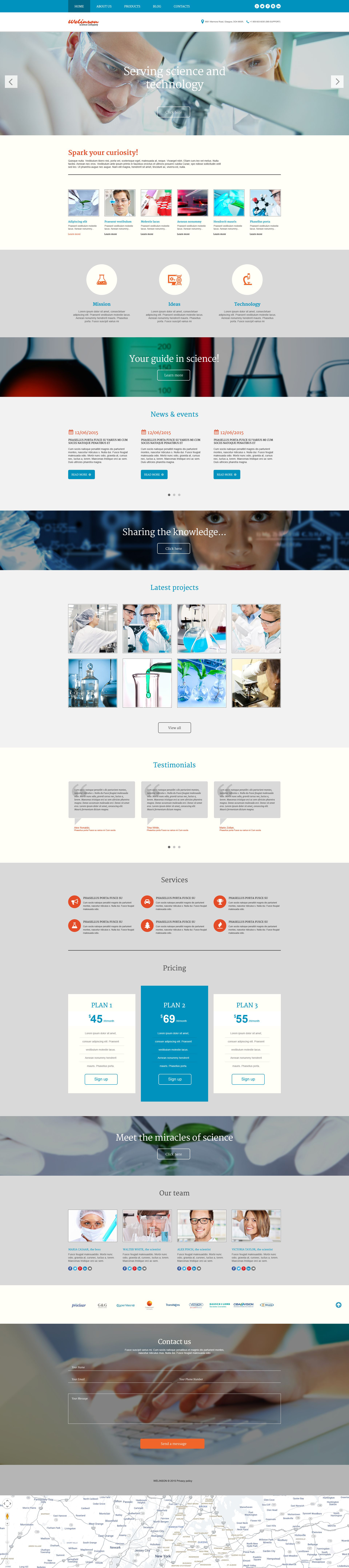 Welinson WordPress Theme