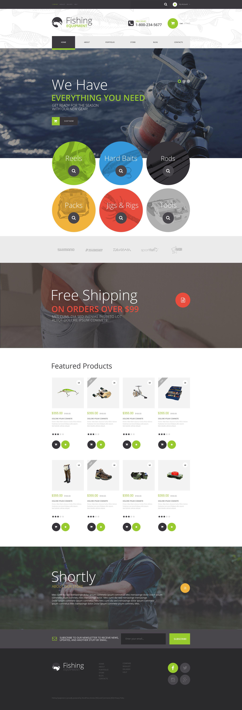 Fishing Kit WooCommerce Theme