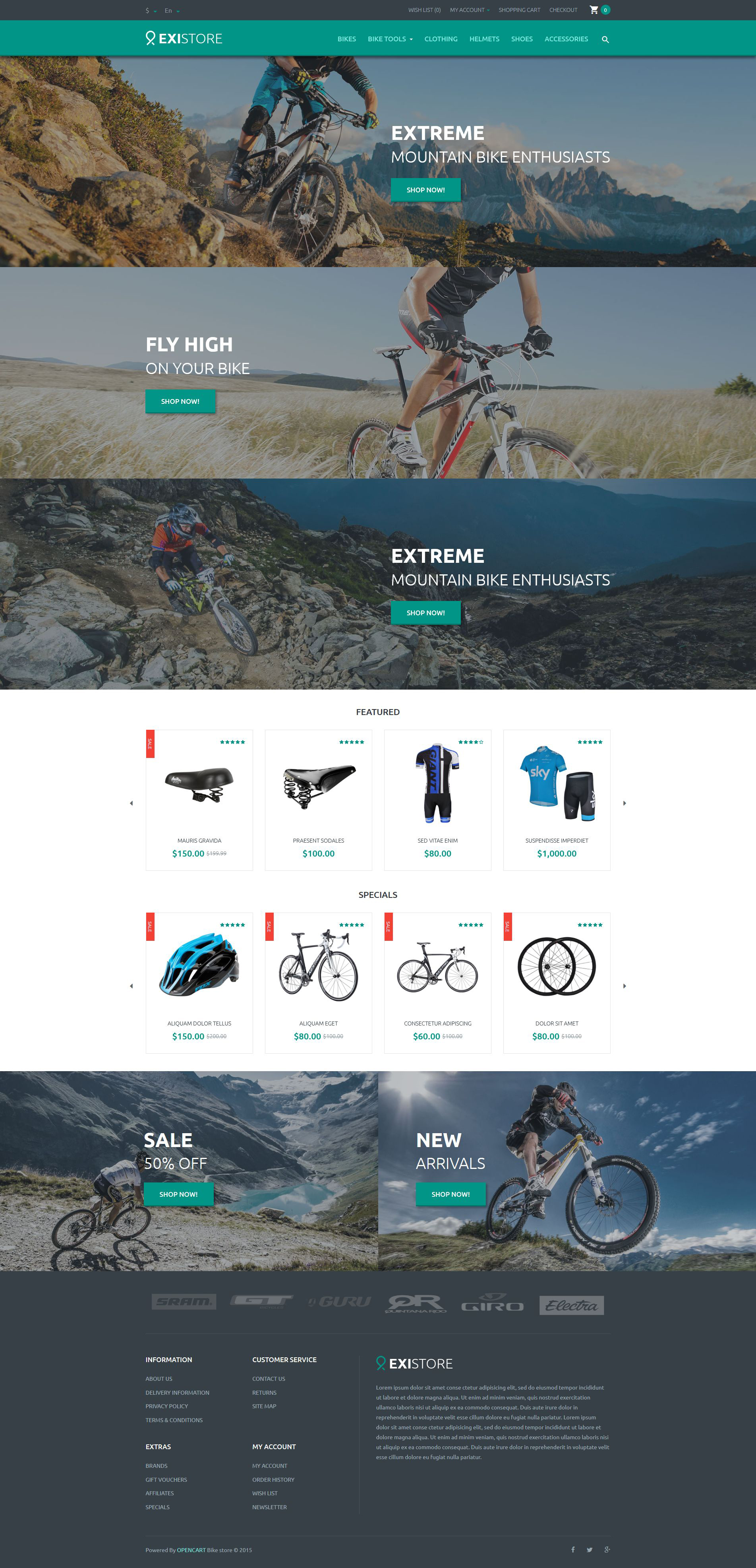 Existore OpenCart Template