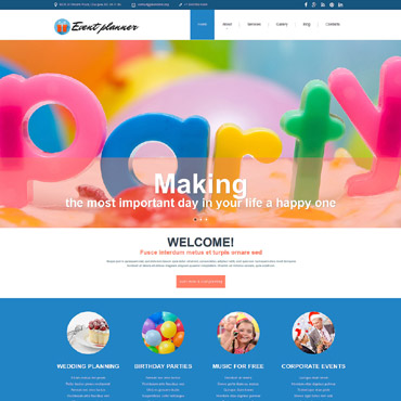 Website Template № 54552