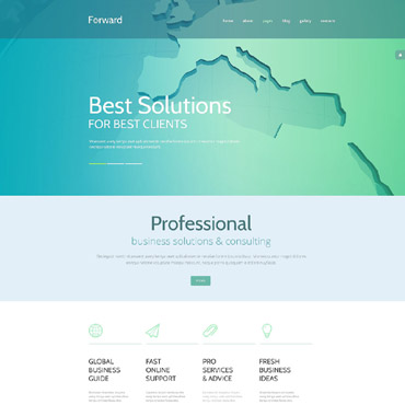Website Template № 54558
