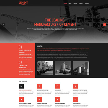 Website Template № 54647