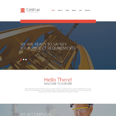 Website Template № 54744