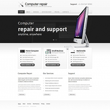 Website Template № 54770