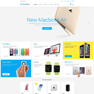 Website Template № 54839