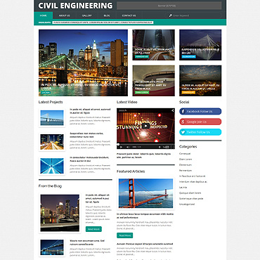 Website Template № 54850