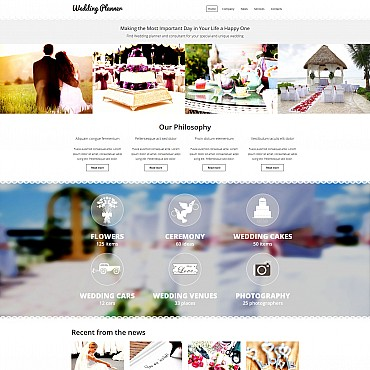Website Template № 54896