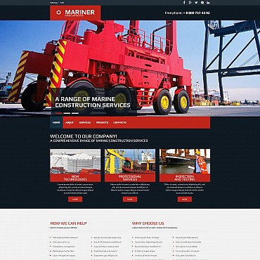 Website Template № 54903