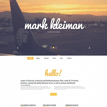 Website Template № 54912
