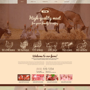 Website Template № 54939