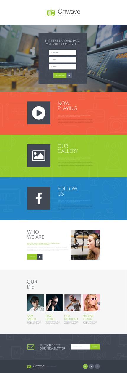 Landing Page Screenshot