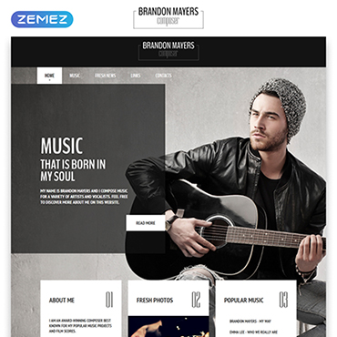 Website Template № 54996