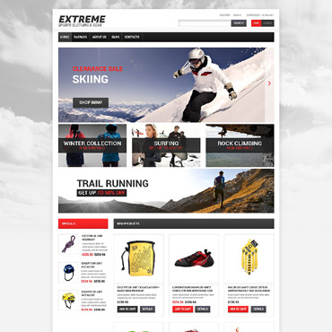 Website Template № 55011