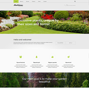 Website Template № 55054