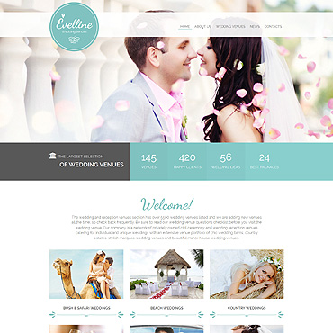 Website Template № 55055