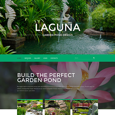 Website Template № 55056