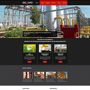 Website Template № 55125