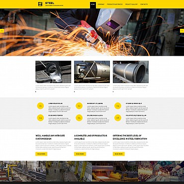 Website Template № 55126