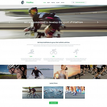 Website Template № 55133