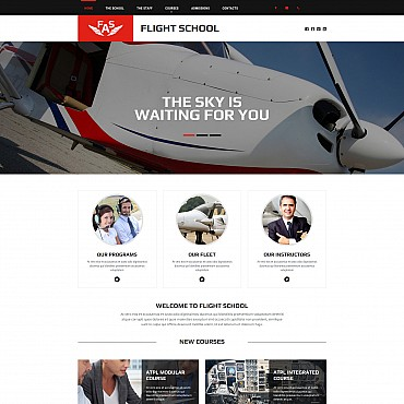 Website Template № 55136
