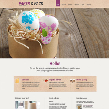 Website Template № 55169