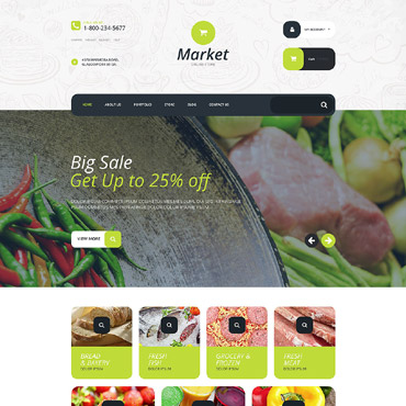 Website Template № 55204