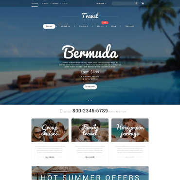 Website Template № 55230