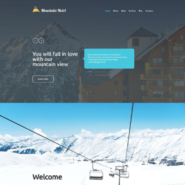 Website Template № 55245