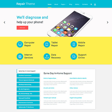 Website Template № 55271