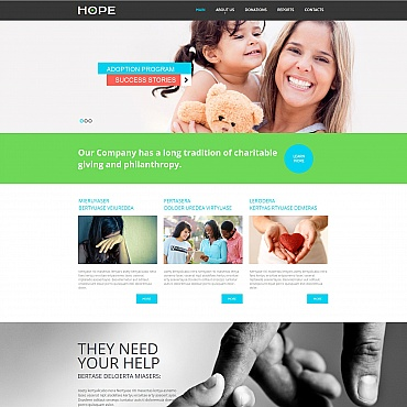 Website Template № 55302