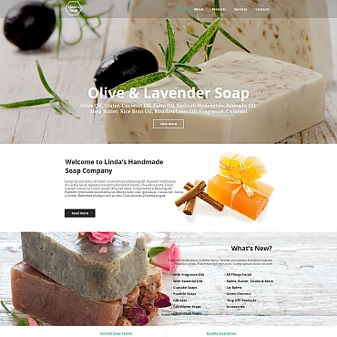 Website Template № 55314