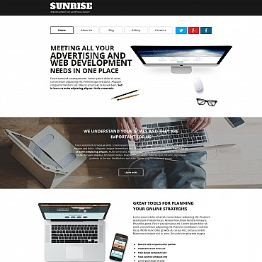 Template Software Moto CMS HTML #55315