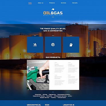 Website Template № 55327