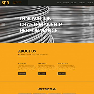 Website Template № 55328