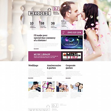 Website Template № 55337