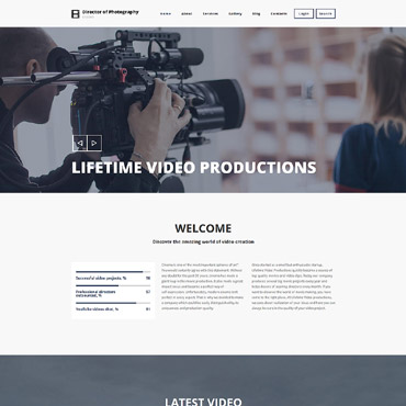 Website Template № 55343