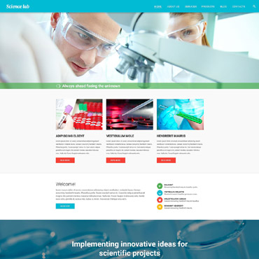 Website Template № 55344