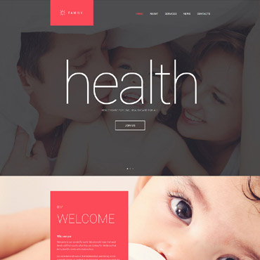Website Template № 55345