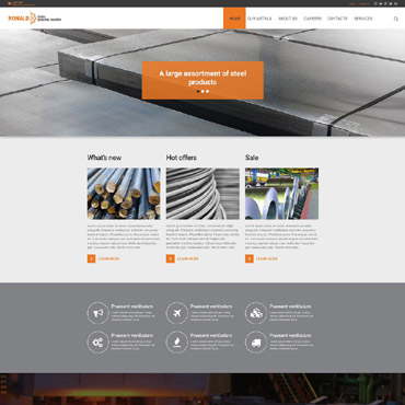 Website Template № 55347