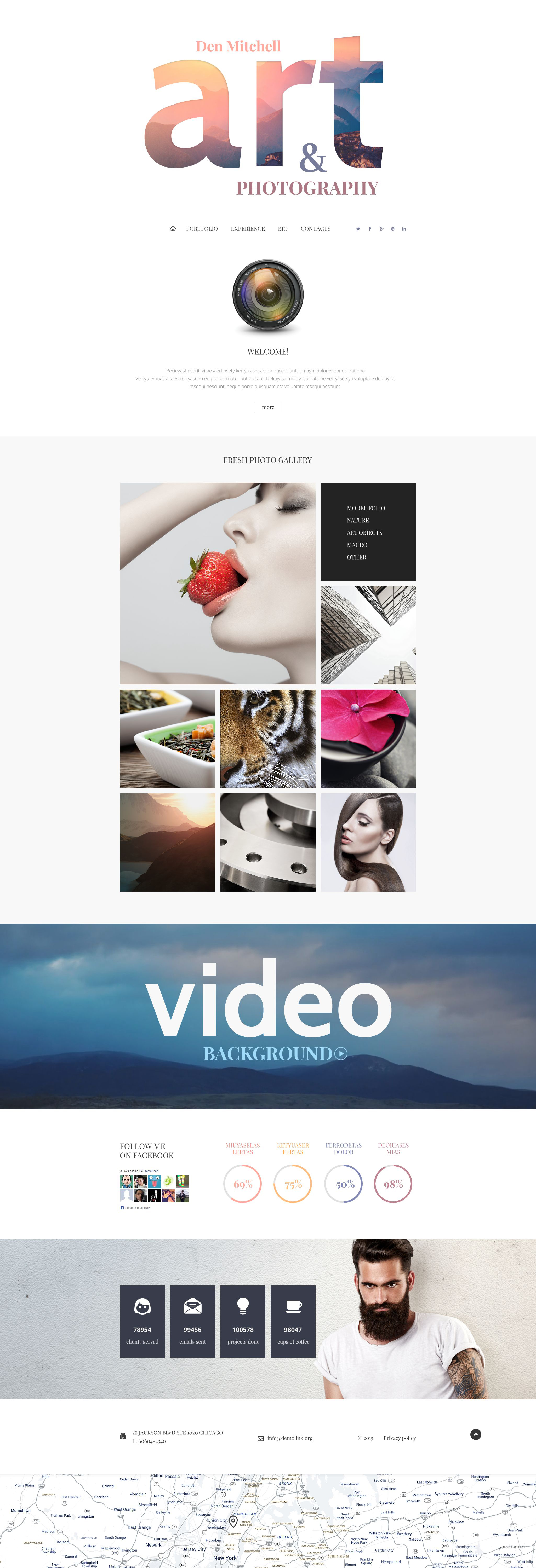 Professional Photographer Joomla Template