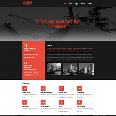 Website Template № 55394