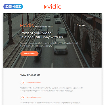 Website Template № 55399