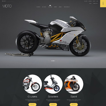 Website Template № 55419