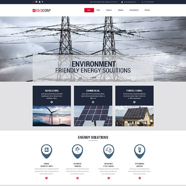 Website Template № 55422