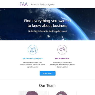 Website Template № 55457