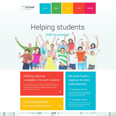 Template Educație Joomla #55489