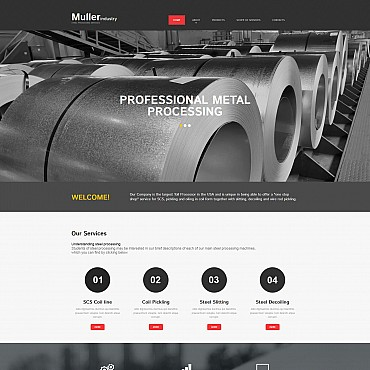 Website Template № 55511