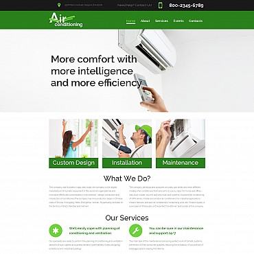 Website Template № 55536